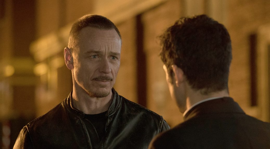 "THE EXORCIST:  Ben Daniels in the ""Chapter Ten:  Three Rooms"" season finale episode airing Friday, Dec. 16 (9:01-10:00 PM ET/PT) on FOX.  ©2016 Fox Broadcasting Co.  Cr:  Jean Whiteside/FOX"