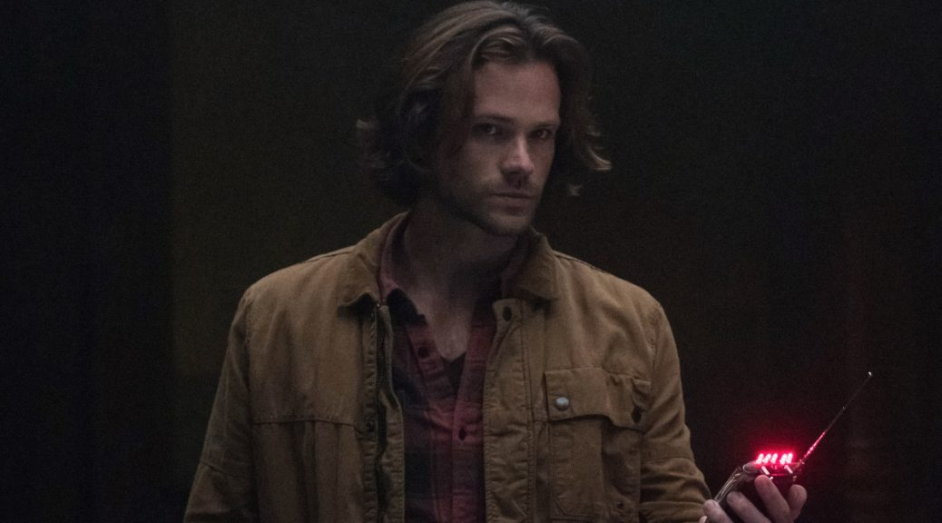 "Supernatural -- ""Advanced Thanatology"" -- Image Number: SN1305b_0081b.jpg -- Pictured: Jared Padalecki as Sam -- Photo: Katie Yu/The CW -- © 2017 The CW Network, LLC All Rights Reserved."